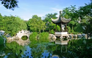 A typical Ancient Chinese Garden