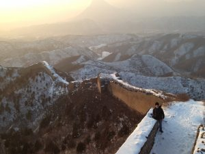 Huanghuacheng is a beautiful section of the Great Wall near Beijing.