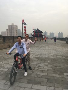 Xi'an City Wall Tandem Bike Ride