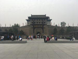 Xi'an City Wall gate