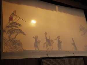 Journey to the West shadow puppets